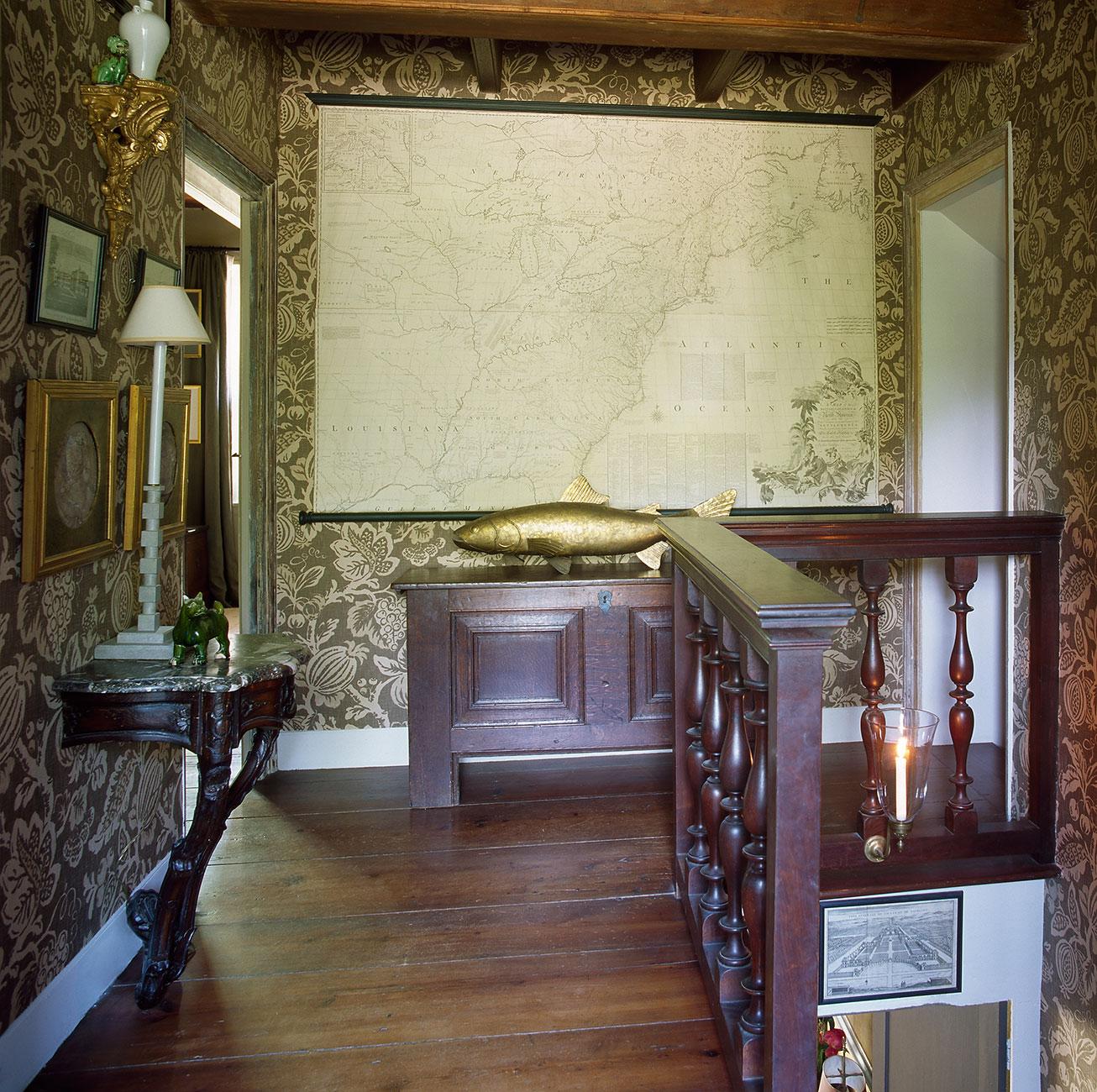 bucks county fieldstone farmhouse, r. goodwin ltd.
